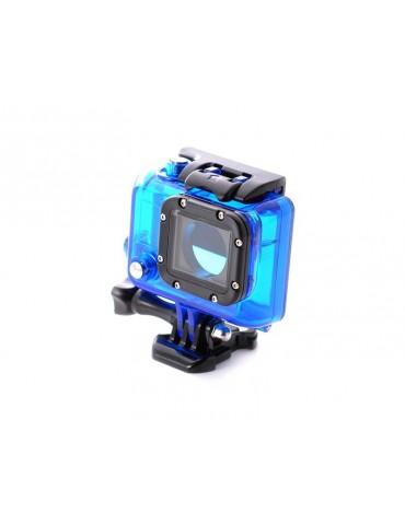 GoPro Waterproof Replacement Housing for Hero 3/ 3+/ 4 Camera - Blue