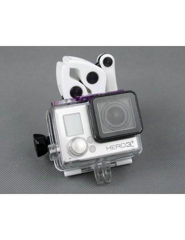 GoPro Sportsman Fishing Rod Gun Rifle Mount for Hero Camera - White