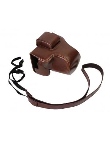 Retro Sony Alpha a6500 Camera Leather Case