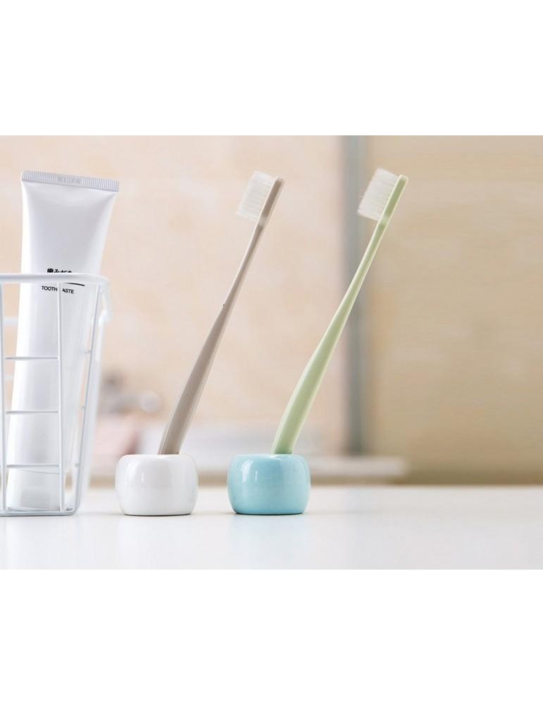 4 Pieces Ceramic Toothbrush Holders