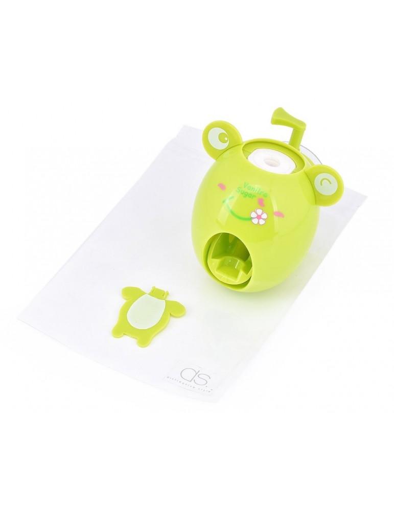 Creative Cute Cartoon Toothpaste Dispenser - Frog