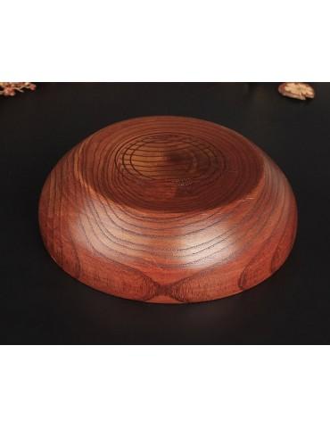 Round Wooden Cigarette Ashtray