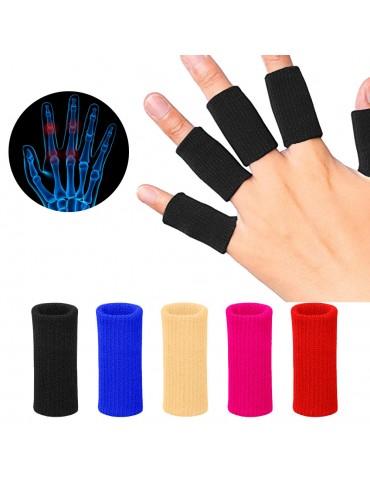 Finger Sleeves Support Thumb Splint Brace For Arthritis Breathable Elastic Finger Tape For Basketball Tennis Baseball Cricket Volleyball Badminton