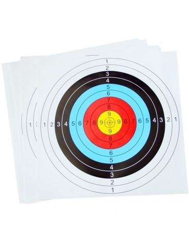 Archery & Crossbow Paper Target Faces 40x40cm
