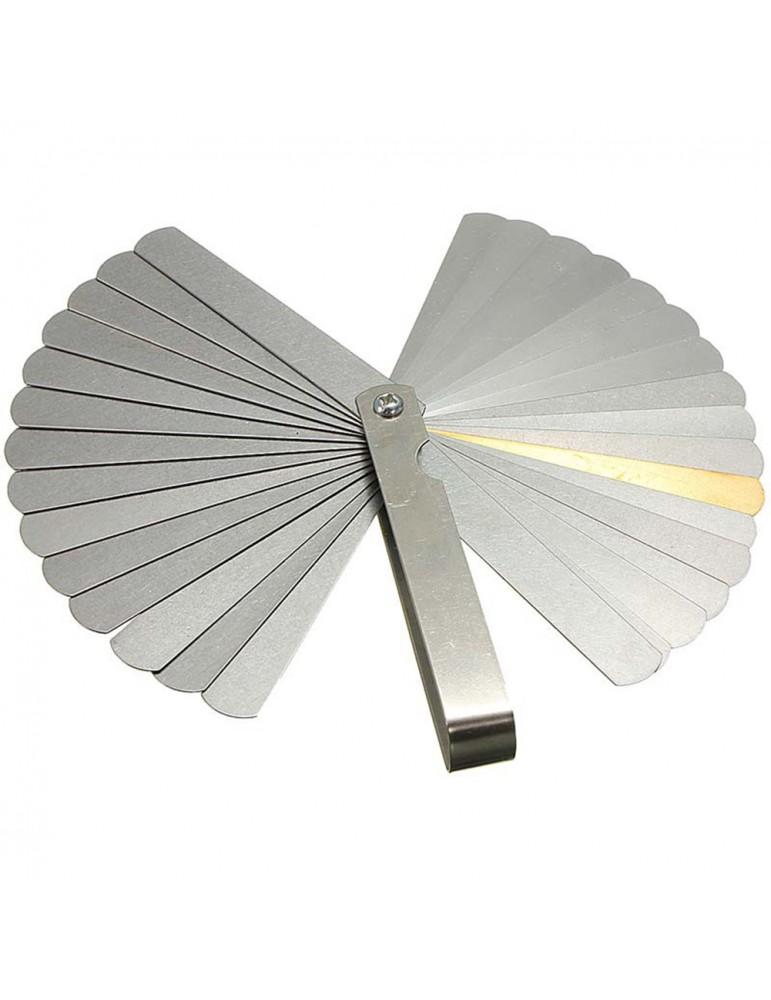 32 Blade Feeler Gauge Dual Reading Combination Measuring  Gauge Metric & SAE