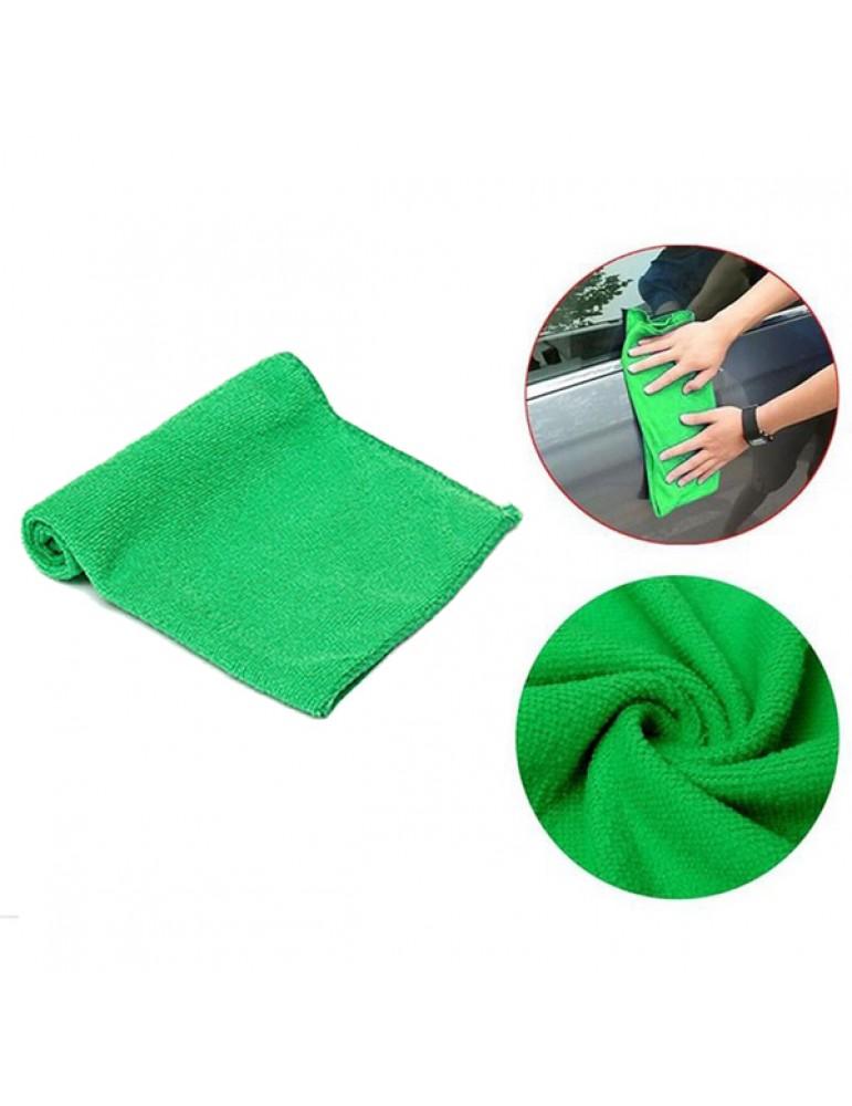 1Pcs Microfiber Towel Kitchen Wash Auto Car Home Cleaning Wash Clean Cloth 25x25cm