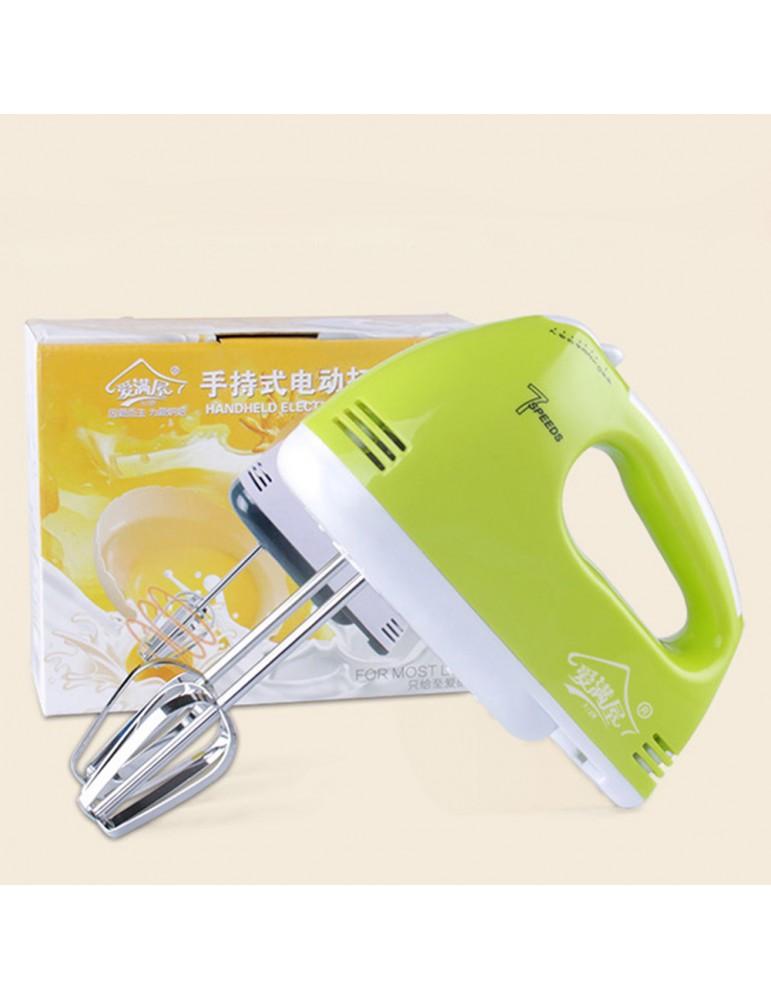 7 Speed Hand Mixer Home Kitchen Electric Cream Blender Baking Cake Biscuit