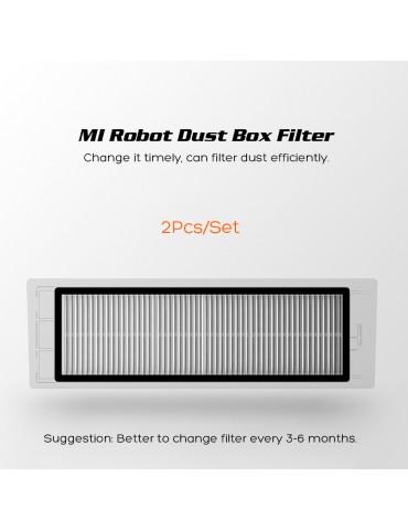 Original Robot Vacuum Part HEPA Filter for Xiaomi Mijia 1/1S/Roborock Vacuum Cleaner S5