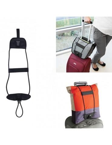 Travel Luggage Bag Bungee Suitcase Adjustable Belt Backpack Carrier Strap